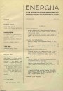 Journal of Energy - Energija